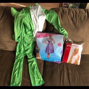 Other - Mom / Kid Halloween Costumes Rapunzel Disney